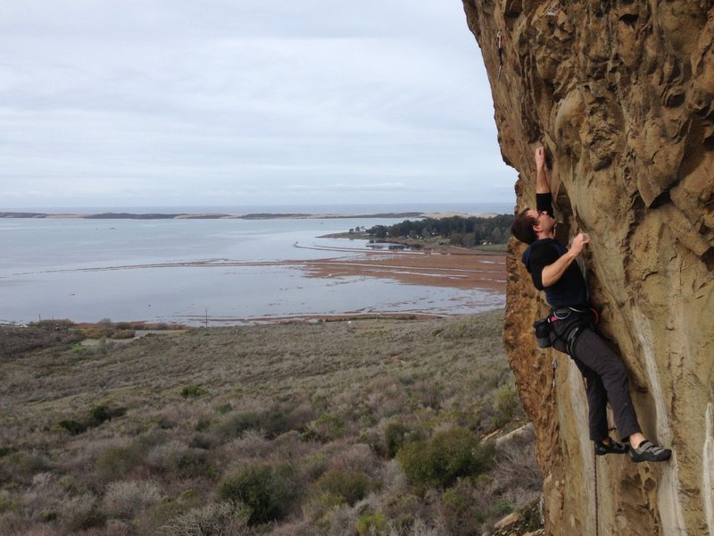 Rock Climbing Photo: Arthur Wesley cranking Brown Smoothies. Photo by A...