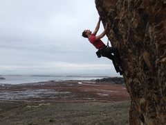 Rock Climbing Photo: Arthur Wesley on Brown Smoothies. Enjoy the View. ...
