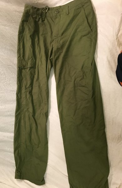 Ascend green pants outdoor excellent condition 30 x 30