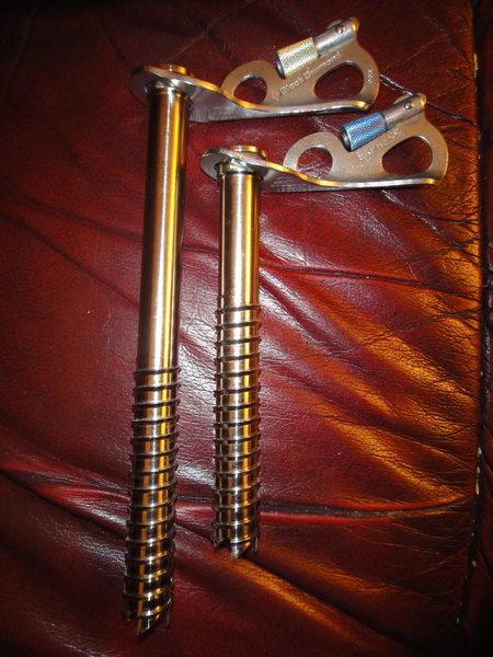 BD ice screws - 3