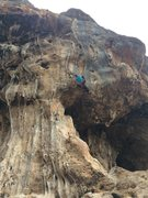 Rock Climbing Photo: Such a featured route