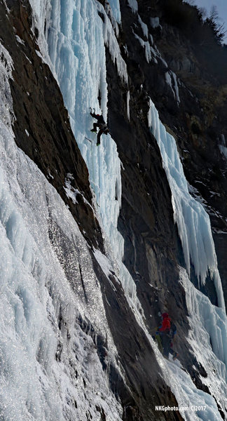 Climbers from Quebec on The Last Gentleman