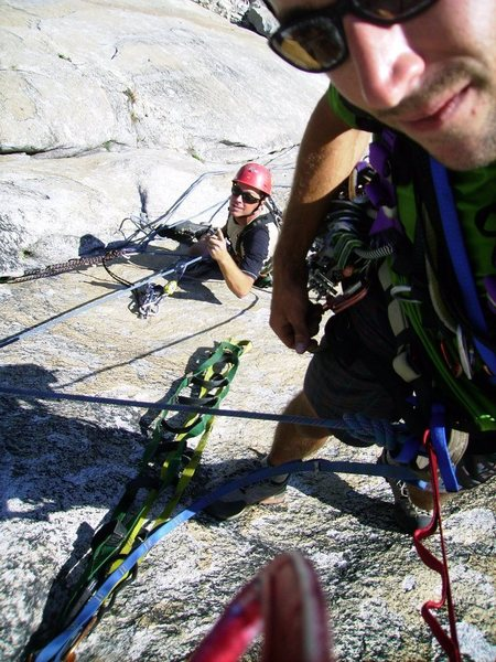 Rock Climbing Photo: Lost Arrow Spire Direct !!!