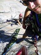 Rock Climbing Photo: Lost Arrow Spire Direct !!!