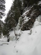 Rock Climbing Photo: February 7th, 2017. Three steep faces again this y...