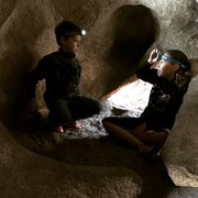 Rock Climbing Photo: Inside the Hobbit Hole.