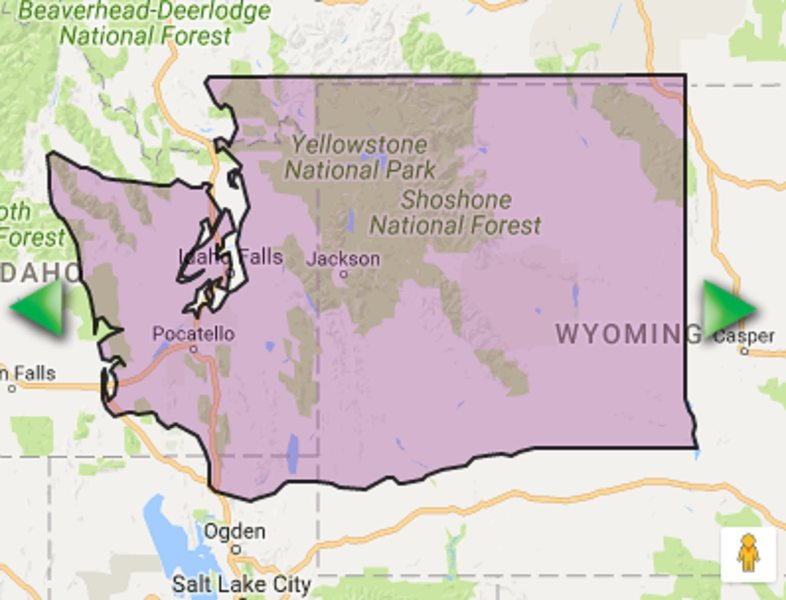 Washington State to scale over Yellowstone NP