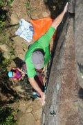 Rock Climbing Photo: F5 at the Main Wall.