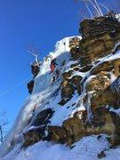 Rock Climbing Photo: Winona MN ice park
