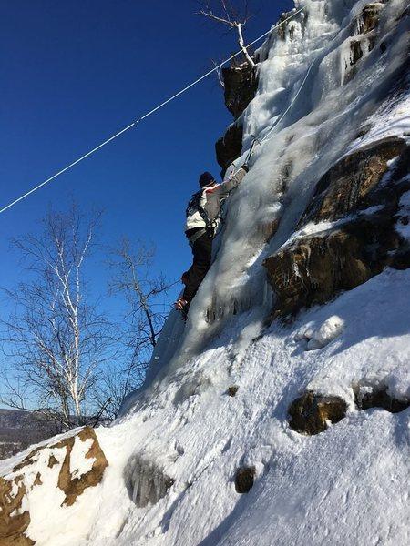 Winona MN ice park