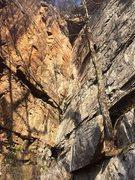 Rock Climbing Photo: Shelob (5.8)