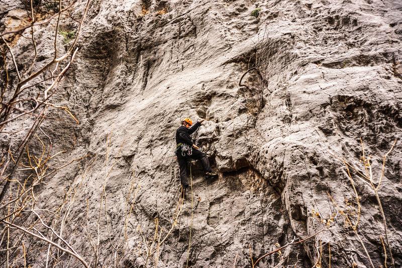 Rock Climbing Photo: Jonny on Quicklime.