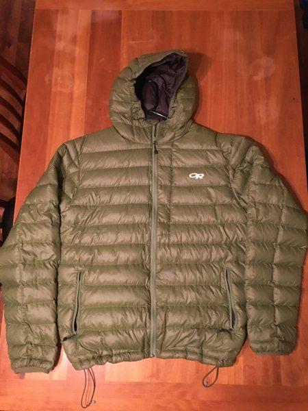 XL, forest green