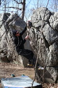 Rock Climbing Photo: Anyone know what this one is called? Near Tyler Du...
