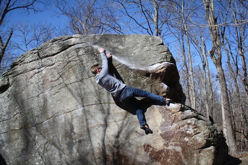 Rock Climbing Photo: Mollusk Boulder