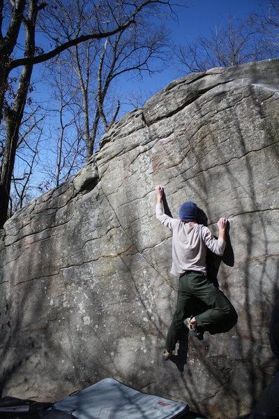 Rock Climbing Photo: Con Artist