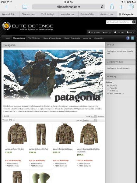 Patagonia military