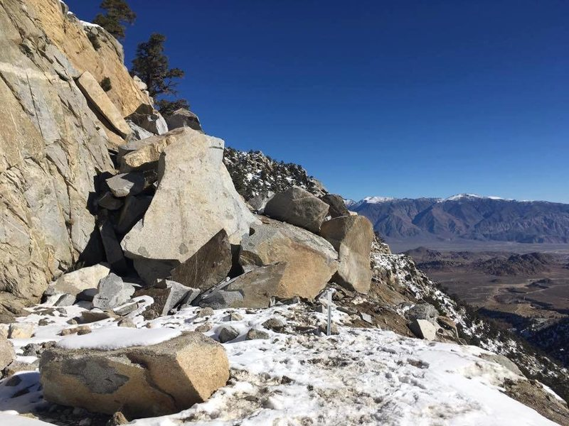 Rock Climbing Photo: Portal Road