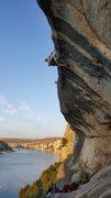 Rock Climbing Photo: Cat on a Hot Tin Roof