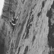 Rock Climbing Photo: following on second pitch