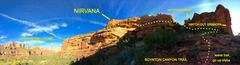 Rock Climbing Photo: Location of Nirvana as seen from the main Boynton ...