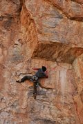 Rock Climbing Photo: traversing left pc: Todd Bukowski