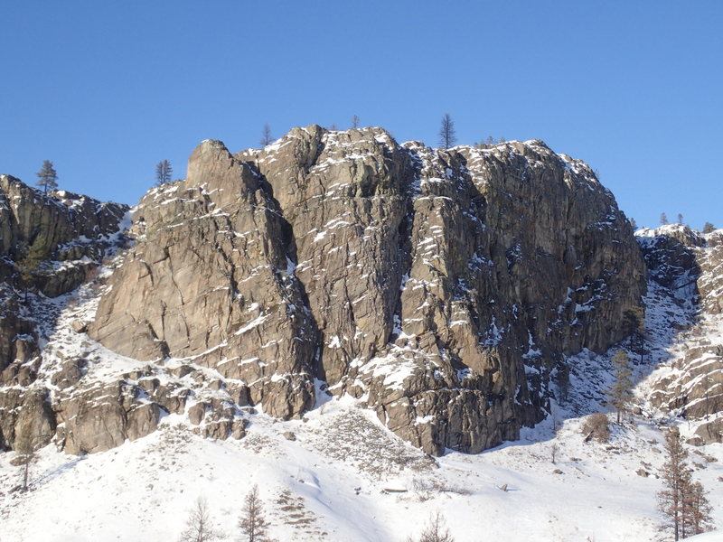 SW Buttress from the south