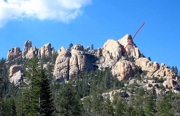 Rock Climbing Photo: Pumping The Nuns is in the Valley of Death, on the...