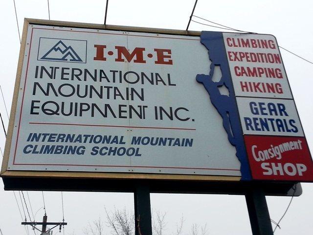 Rock Climbing Photo: IME