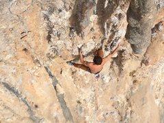 Rock Climbing Photo: Bottom tufa section