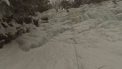 Rock Climbing Photo: Walk in the Forest Snowy conditions on 2/11/2017