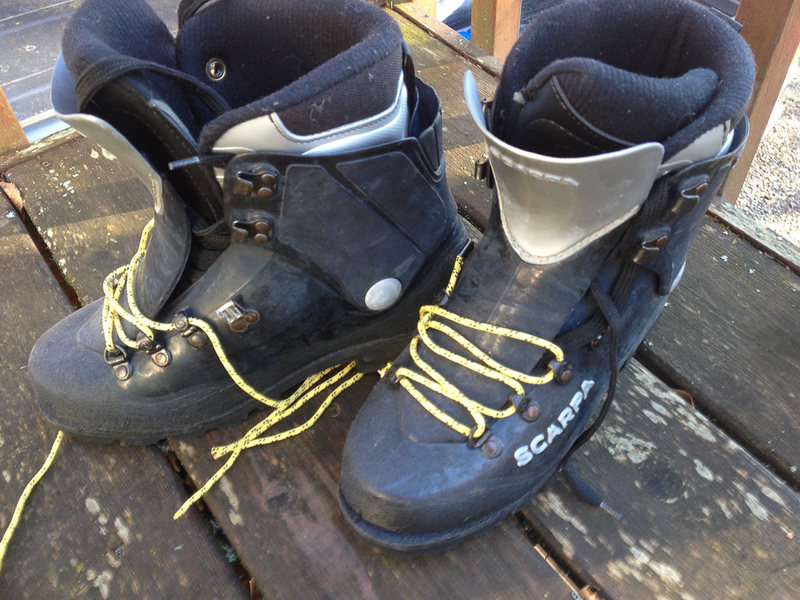 Rock Climbing Photo: Scarpa Inverno for sale