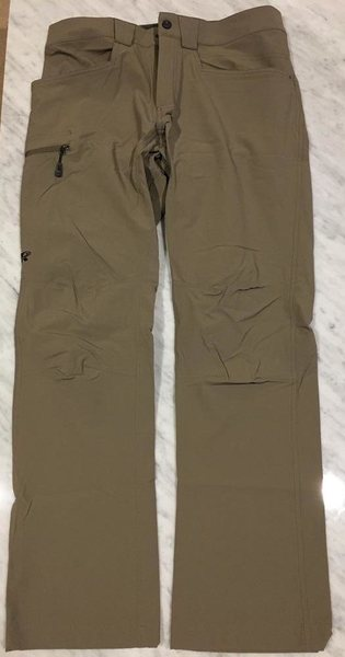 OR Voodoo pants, size 30, walnut (front)