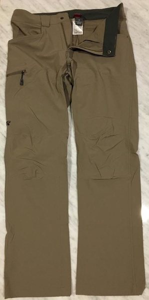 OR Voodoo pants, size 30, walnut (front w/ tag)