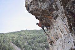 Rock Climbing Photo: On the send.