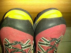 Rock Climbing Photo: Front boots
