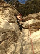 Rock Climbing Photo: From wide stances to a full body jam position, thi...