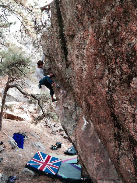 Rock Climbing Photo: The Syringe.
