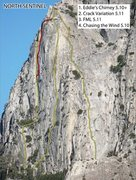 Rock Climbing Photo: Overlay
