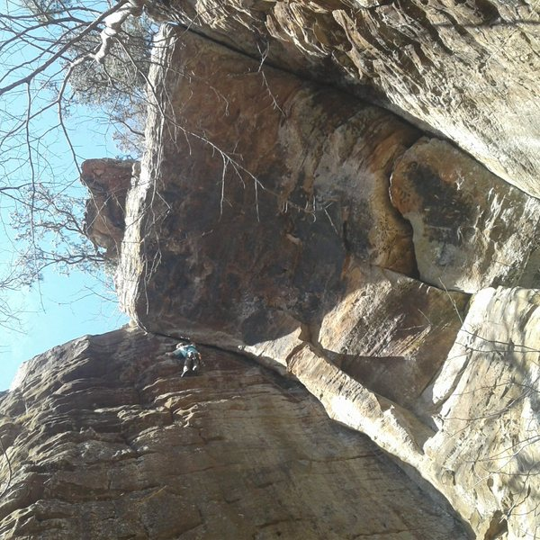Rock Climbing Photo: Beautiful February ascent