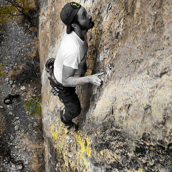 Rock Climbing Photo: cangrena 13.c/san sebastian tutla