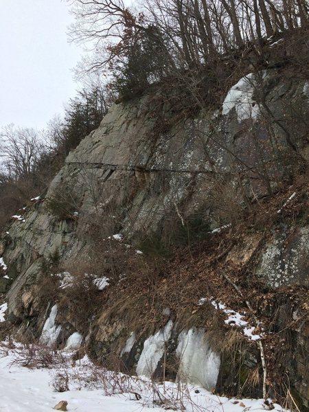 Rock Climbing Photo: Nothing here