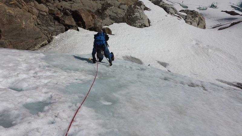 Rock Climbing Photo: Climbs around Iceberg Lake Alaska