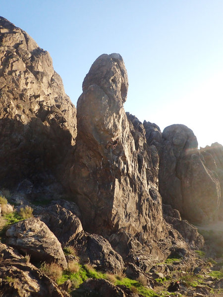 PC: Brian Chen<br> Great fun climb