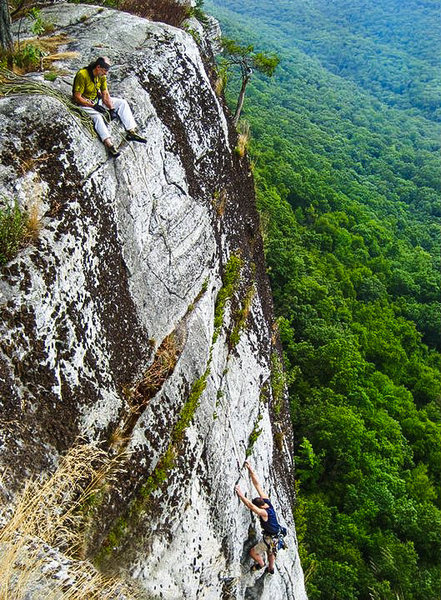 RG and DS on No Glow, Gunks