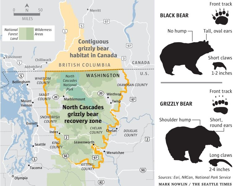 Proposed Cascade Bear Recovery Zone