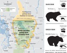 Rock Climbing Photo: Proposed Cascade Bear Recovery Zone