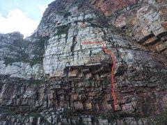 Rock Climbing Photo: 312. Face the Wall