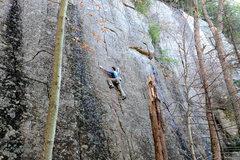 Rock Climbing Photo: Spelunking Midgit.
