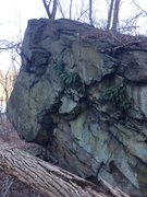 Rock Climbing Photo: The vertical side. It needs a little cleaning, but...